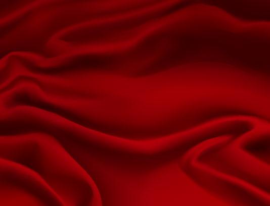 وکتور پارچه ساتن قرمز