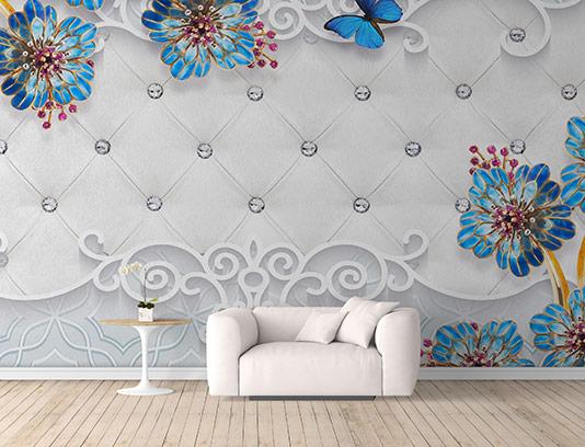 کاغذ دیواری سه بعدی لوکس
