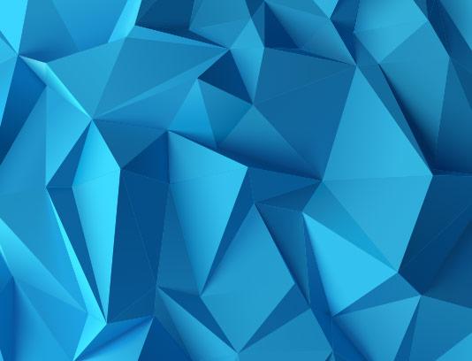 وکتور بک گراند مثلث سه بعدی آبی