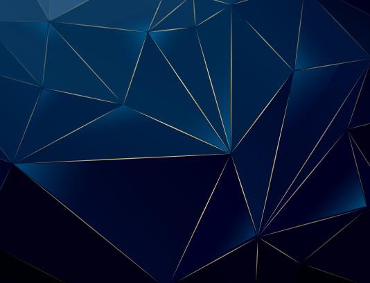پس زمینه مثلث سه بعدی سرمه ای