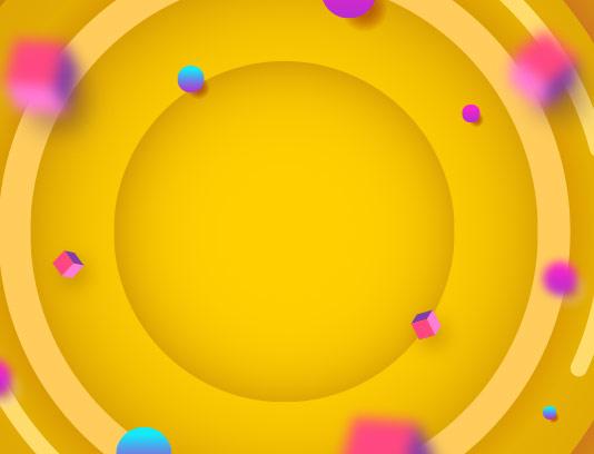 پس زمینه انتزاعی زرد وکتور