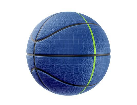 طرح موکاپ توپ بسکتبال با کیفیت