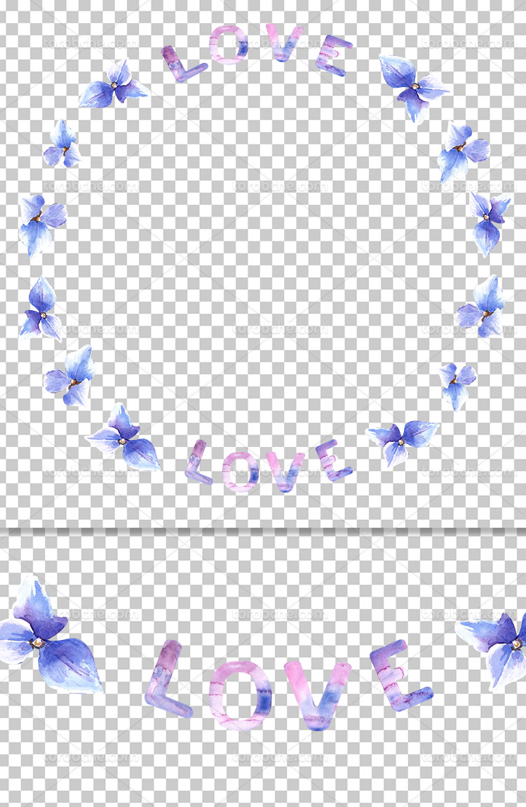 عکس دوربری شده حاشیه گل