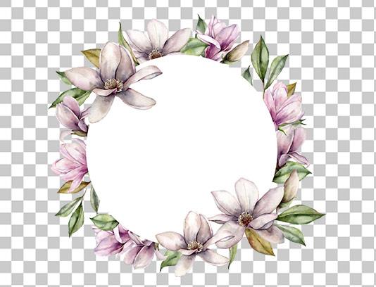 عکس دوربری شده کادر گل