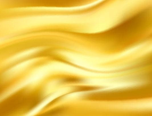 وکتور پارچه طلایی رنگ