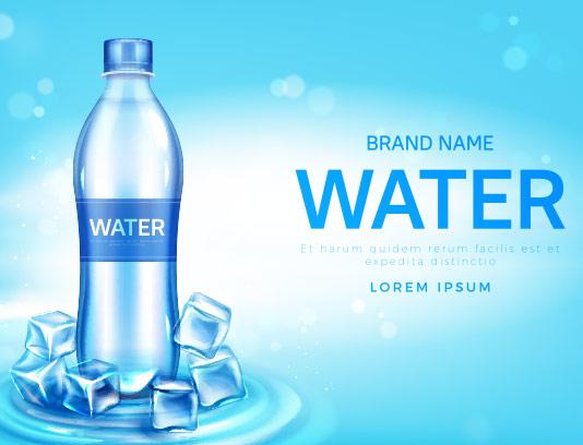 وکتور با کیفیت آب معدنی
