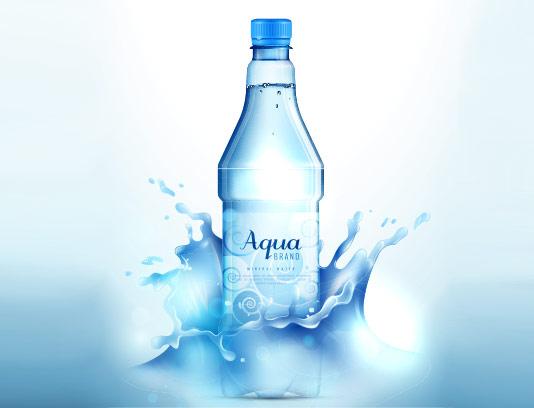 وکتور آب معدنی با کیفیت