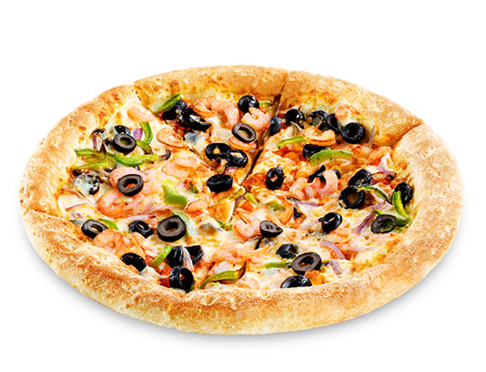 عکس پیتزا مخلوط با کیفیت