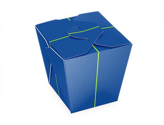 موکاپ بسته بندی کاغذی نودل