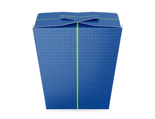 موکاپ بسته بندی کاغذی مواد غذایی
