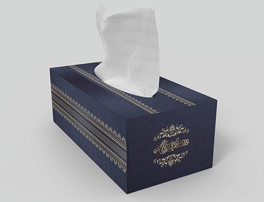 جعبه دستمال کاغذی زیبا