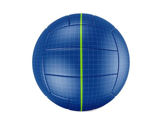 موکاپ توپ والیبال با کیفیت