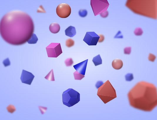 وکتور بک گراند اشکال هندسی رنگی