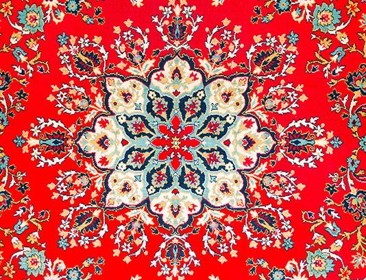 عکس گل قالی با کیفیت