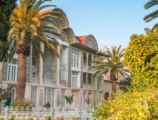 عکس با کیفیت باغ ارم شیراز