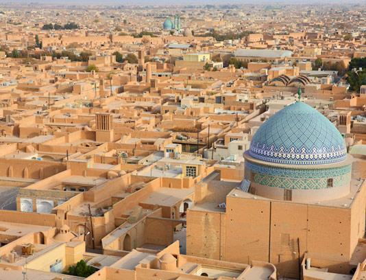 عکس بافت تاریخی یزد