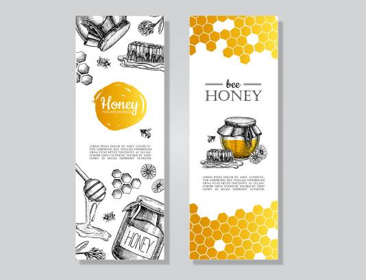 وکتور بنر عسل فروشی