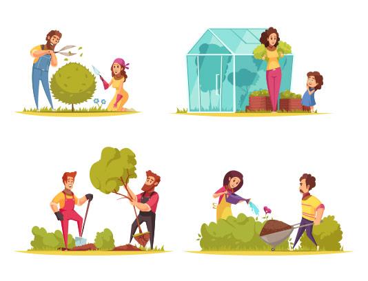 وکتور باغبانی با کیفیت