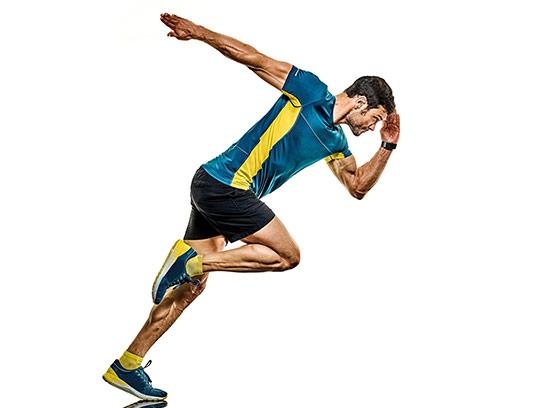 عکس مرد دونده با کیفیت