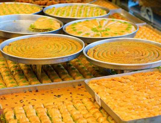 عکس با کیفیت شیرینی استانبولی