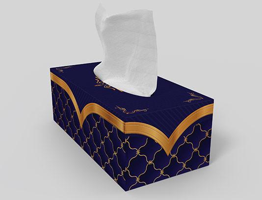 جعبه دستمال کاغذی لوکس