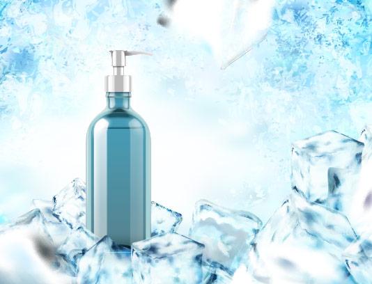 وکتور مایع دست شویی