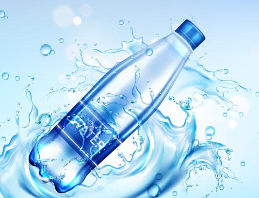 وکتور آب معدنی تبلیغاتی