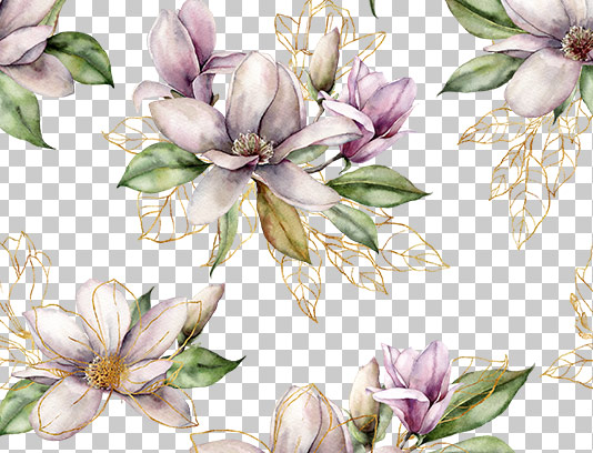 عکس دوربری شده گل بهاری