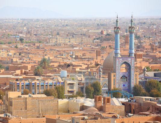 عکس مسجد حظیره یزد