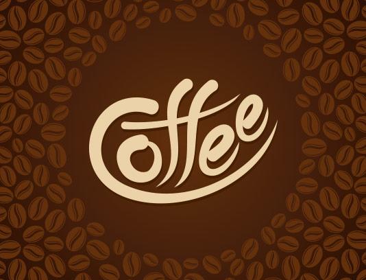 وکتور پس زمینه قهوه