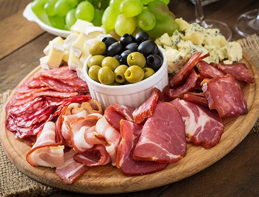 عکس انواع گوشت با زیتون