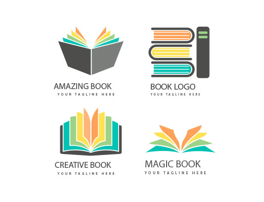 وکتور لوگو کتاب خلاقانه