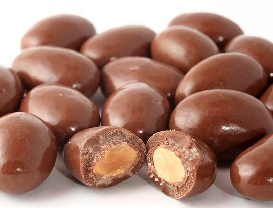 عکس شکلات مغز دار