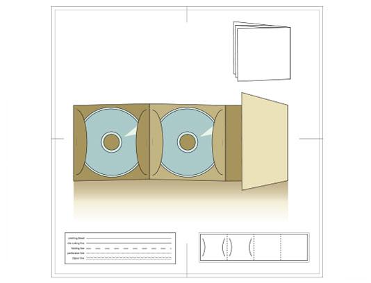 وکتور پاکت سی دی با کیفیت