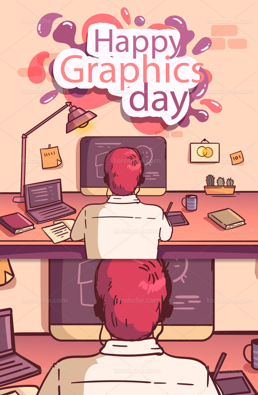 وکتور روز گرافیک با کیفیت