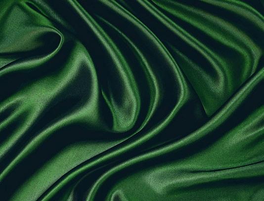 عکس پارچه ساتن سبز