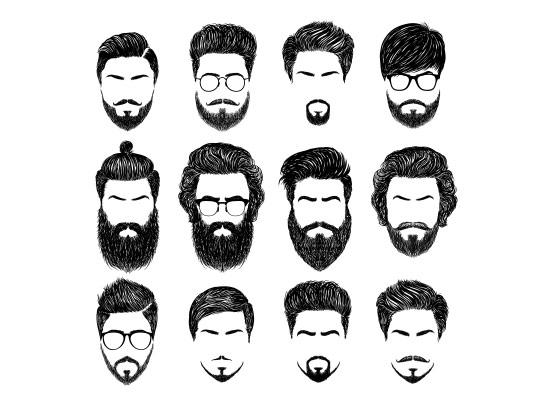 وکتور لوگو آرایشگاه مردانه