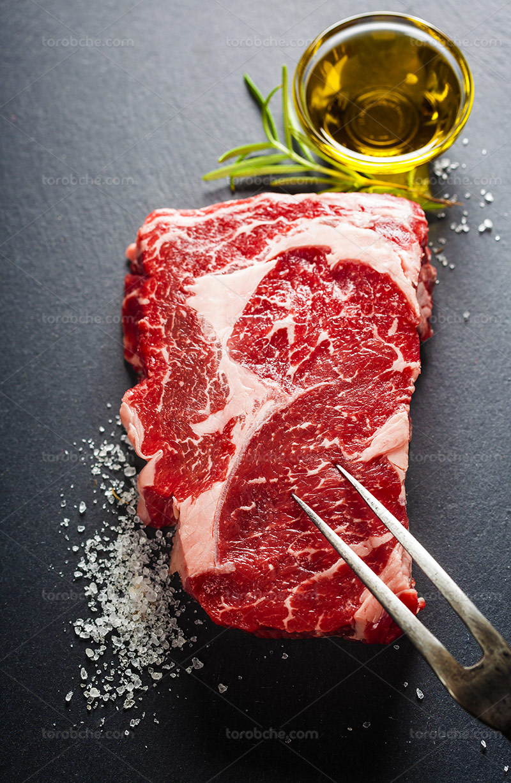 عکس گوشت قرمز گاو