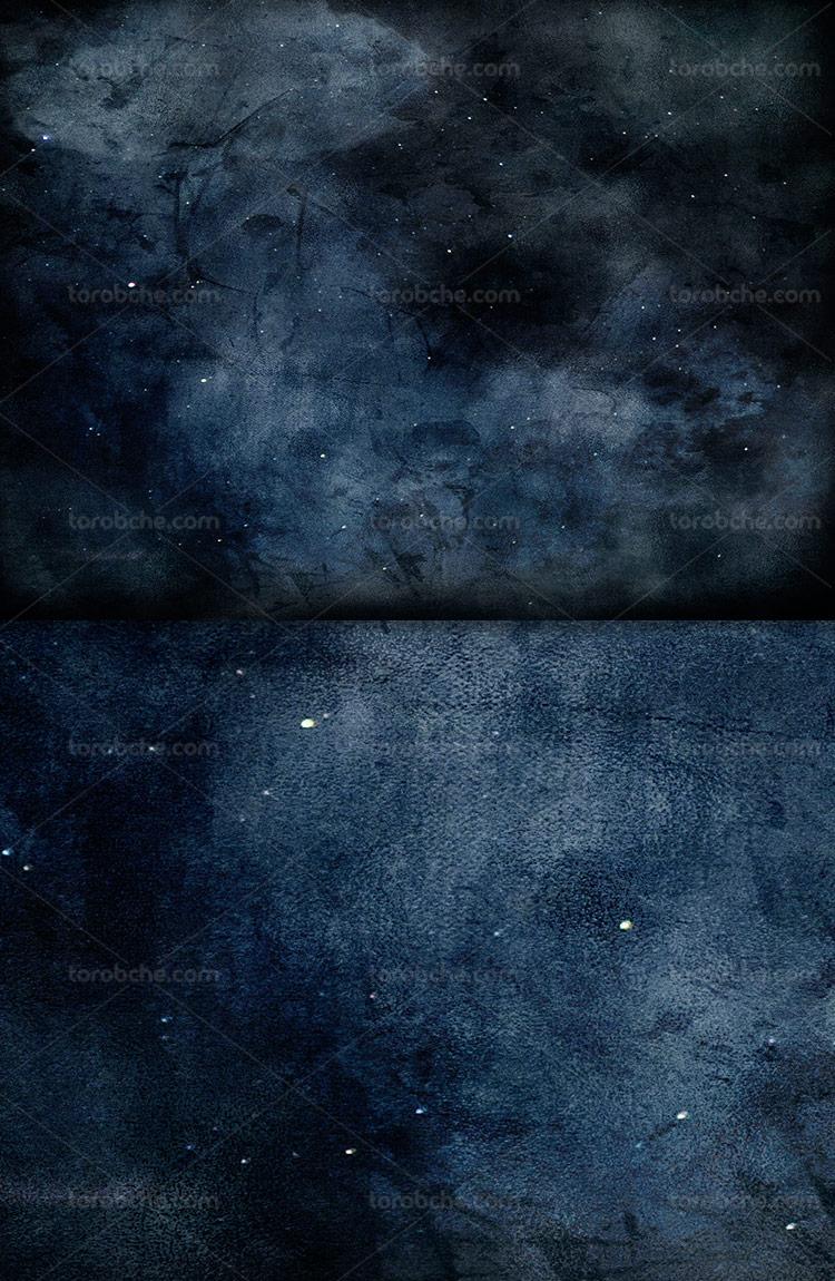 عکس آسمان پر ستاره با کیفیت