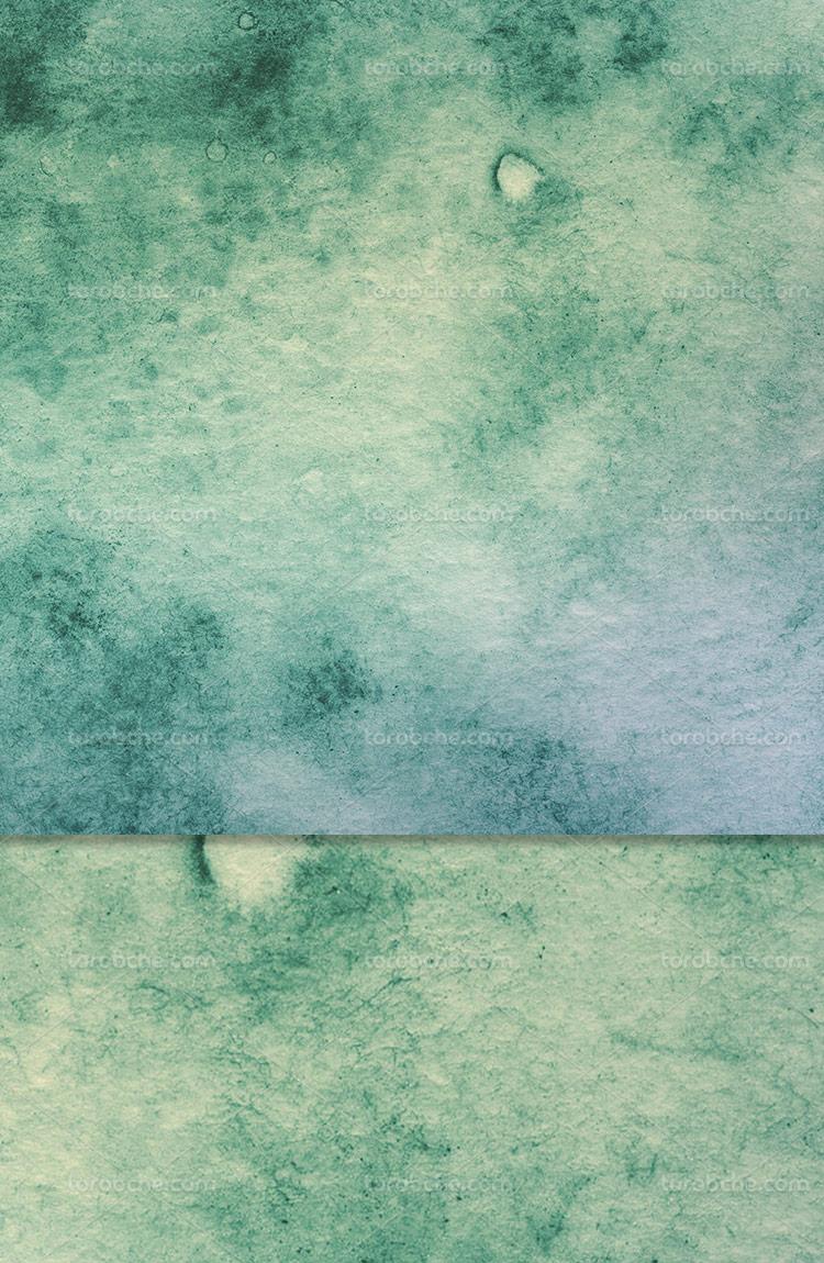 تکسچر و پس زمینه آبرنگ سبز