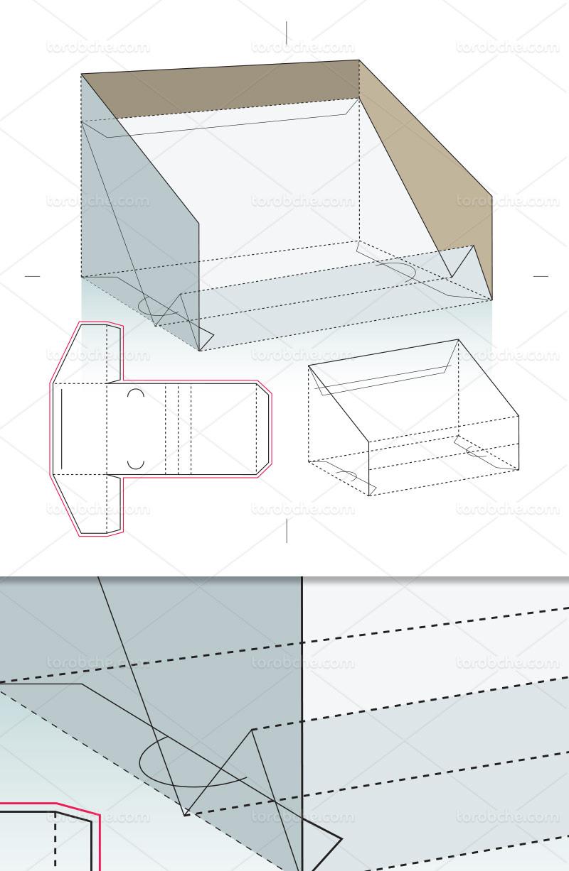 وکتور طرح گسترده جعبه استند
