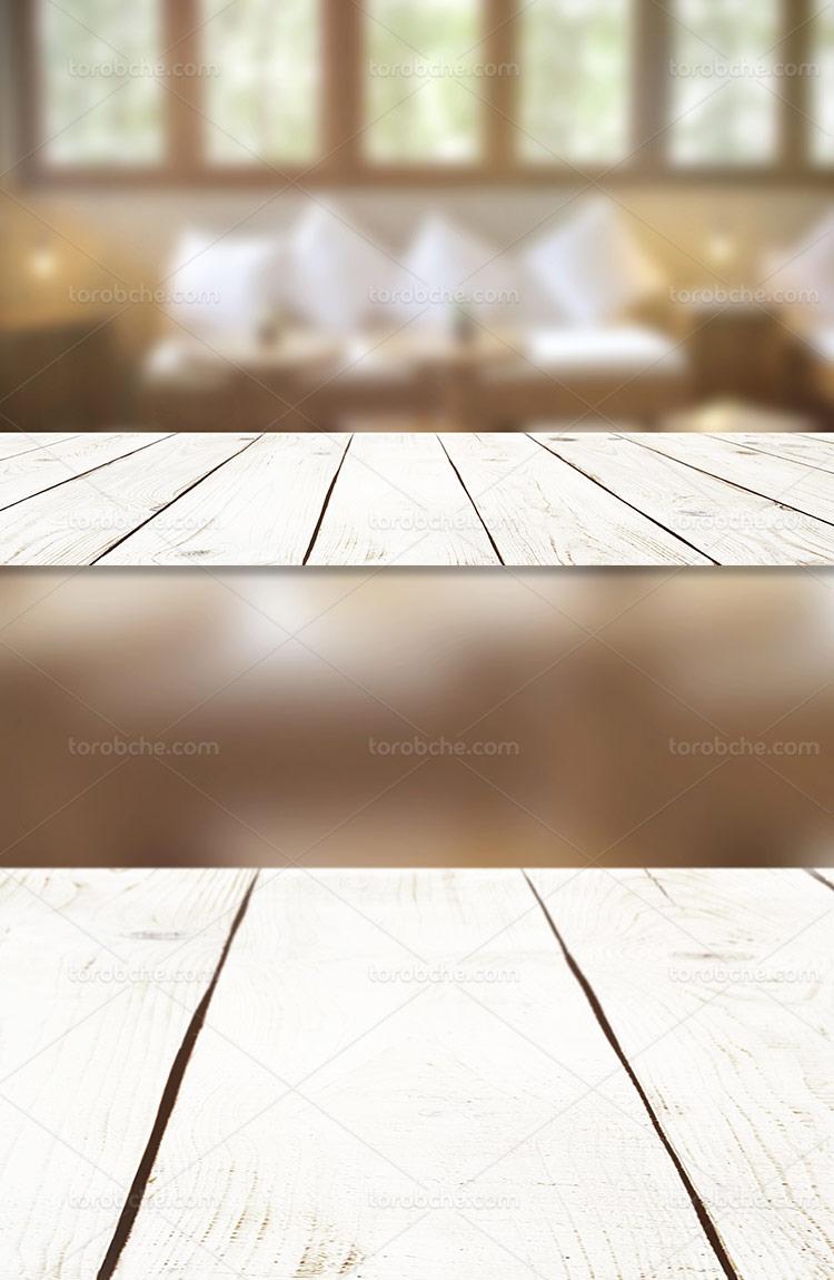 پس زمینه و بکگراند میز چوبی
