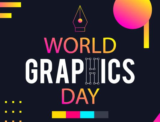 وکتور بنر روز جهانی گرافیک