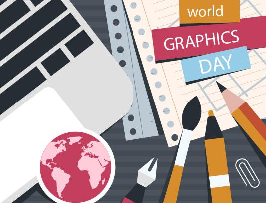 وکتور روز گرافیک خلاقانه