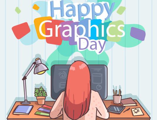 وکتور روز جهانی گرافیست