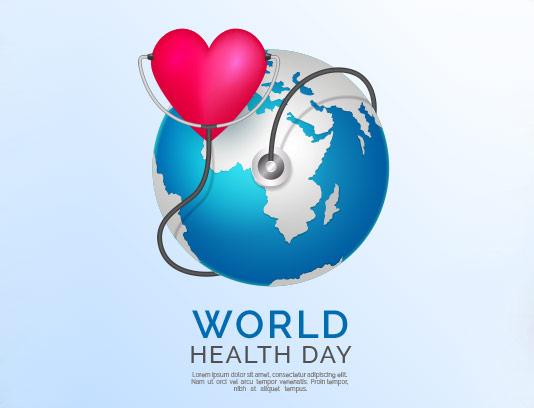 وکتور روز جهانی سلامت با کیفیت