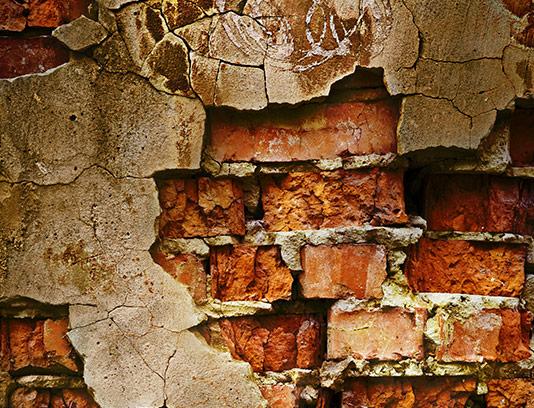 تکسچر و زمینه دیوار آجری