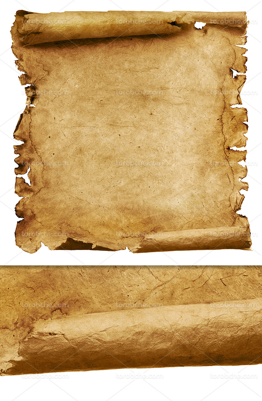 تکسچر و زمینه کاغذ کاهی