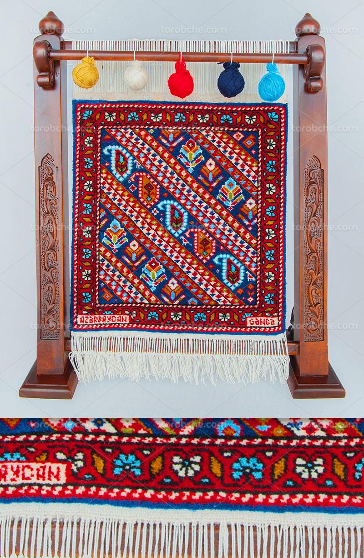عکس دار قالی بافی با کیفیت
