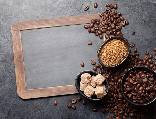 عکس دانه های قهوه تازه